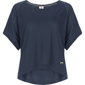 super.natural Motion Peyto Camiseta Mujer, navy blazer